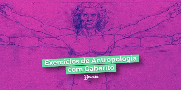 Exercícios de Antropologia