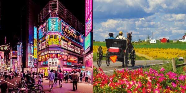 Tokyo e o Povo Amish
