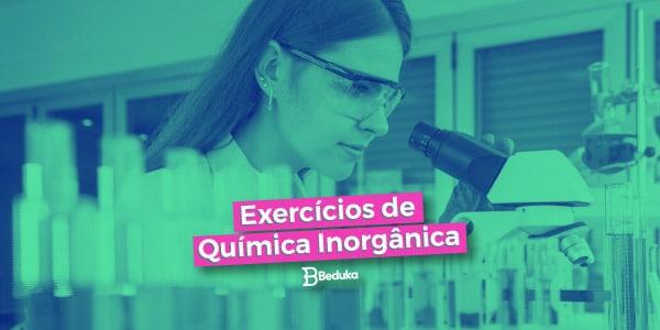 Exercícios de Química Inorgânica