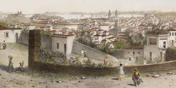 Rio-de-Janeiro-na-época-que-era-capital-do-Brasil-Transferência-de-capital-pelo-Marquês-de-Pombal.
