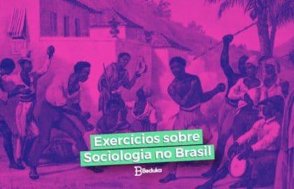 Exercícios sobre Sociologia no Brasil