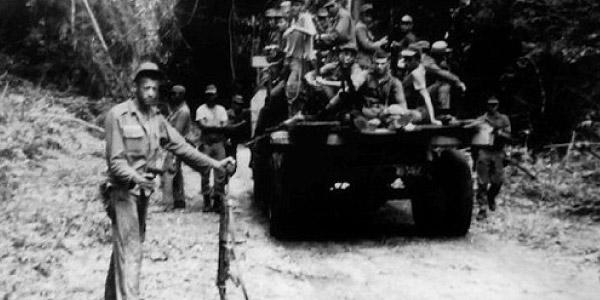 Confronto no Araguaia entre Guerrilha e Exército