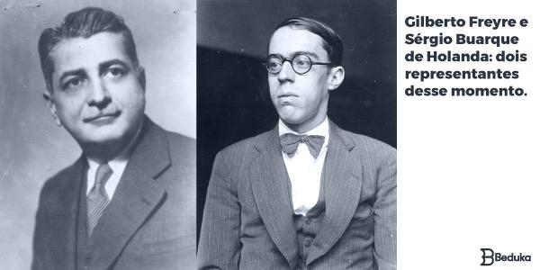 Gilberto Freyre e Sérgio Buarque de Holanda