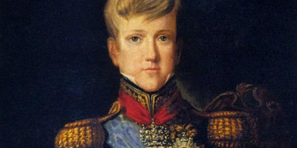 Dom Pedro II na infância