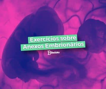 Exercícios de Anexos embrionários