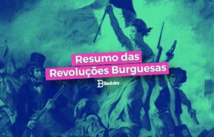 Saiba quais foram as Revoluções Burguesas e suas características!