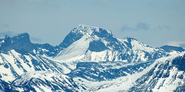 Imagem dos Alpes Escandinavos