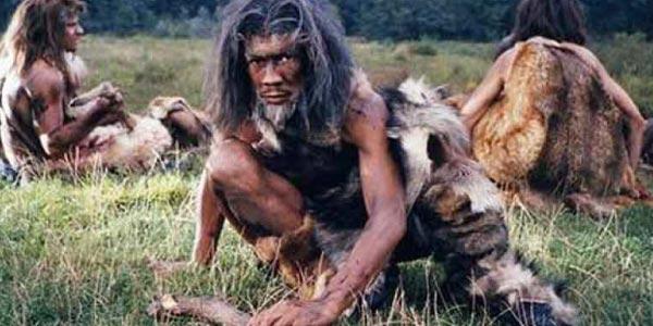 homem-das-cavernas era cenoxoica surgimento do homem