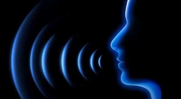 Exemplo de como as ondas sonoras se propagam na voz