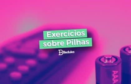 10 Melhores exercícios sobre Pilhas!