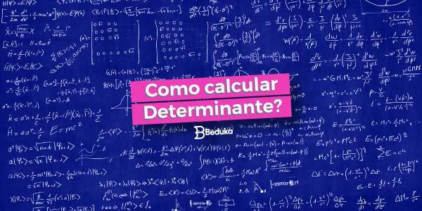 Aprenda o que é e como calcular o Determinante!