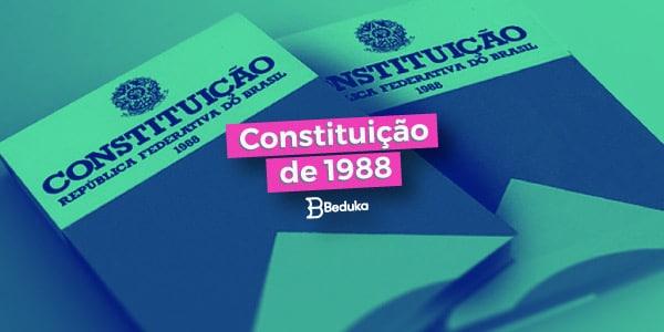 Entenda a importância da Constituição de 1988!