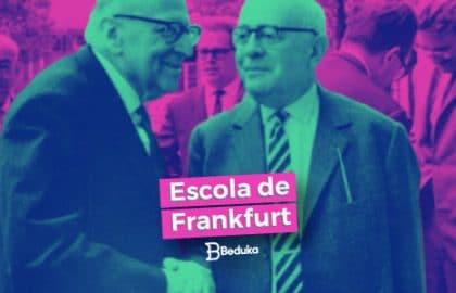 Entenda o que é a famosa Escola de Frankfurt!