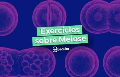 Exercícios sobre Meiose