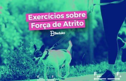 Os 12 melhores exercícios sobre Força de Atrito!
