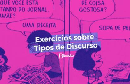 Exercícios sobre Tipos de Discurso