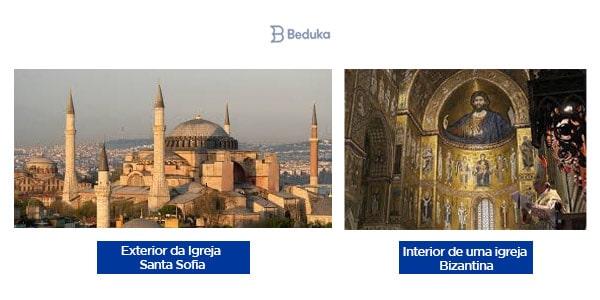igreja hagea sofia santa sofia do lado de fora externa estrutura de uma igreja bizantina por dentro