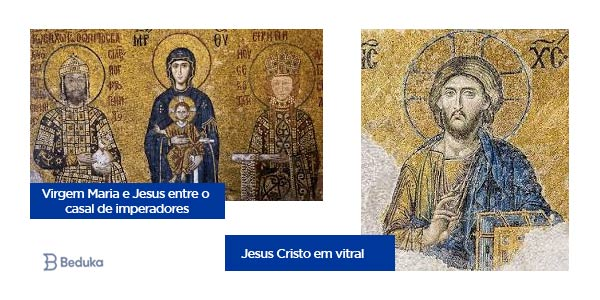 mosaico da arte bizantina