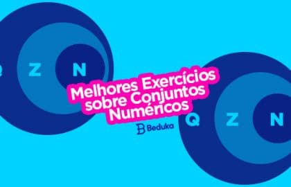 Exercícios sobre Conjuntos Numéricos