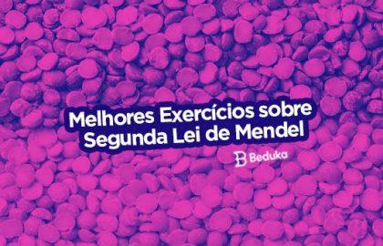 Exercícios sobre Segunda Lei de Mendel
