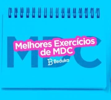 Exercícios de MDC
